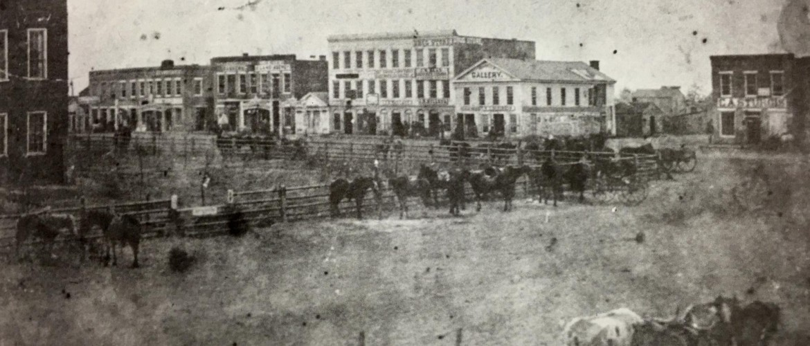 original downs building circa 1860